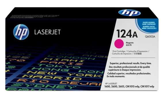 Toner HP Q6003A/124A - purpurový