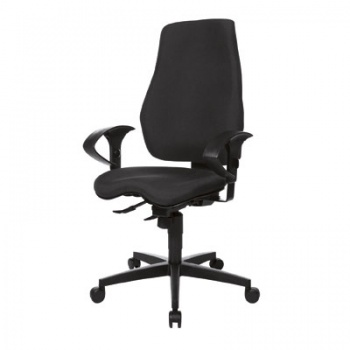 Kancelářská židle Realspace Pro Eiger synchronní - černá
