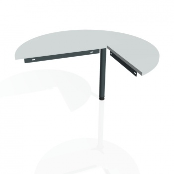 Přídavný stůl Hobis GATE GP 22 levý, šedá/kov
