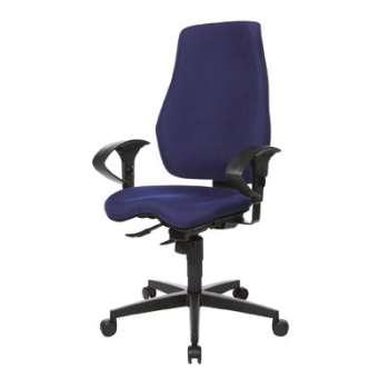 Kancelářská židle Realspace Pro Eiger synchronní - modrá