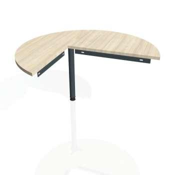 Přídavný stůl Hobis GATE GP 22 pravý, akát/kov