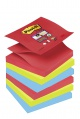 Samolepicí Z-bločky Post-it Super Sticky Bora Bora - 3 barvy, 6 ks