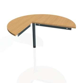 Přídavný stůl Hobis GATE GP 22 pravý, buk/kov
