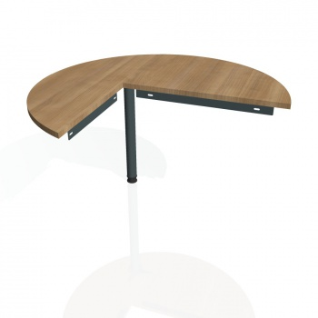 Přídavný stůl Hobis GATE GP 22 pravý, višeň/kov
