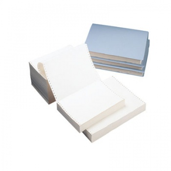 Papír tabelační, 37,5cm x 12 palců, 1+1