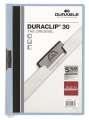Desky s klipem DURACLIP 30, A4 světle modrá