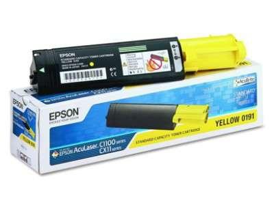 Toner Epson S050187 - žlutá