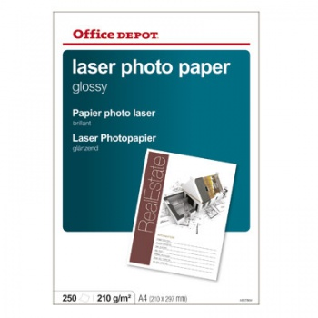 Fotopapír Office Depot, A4, 210 g/m2, lesklý