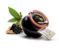 Černé ořechy ve vanilkovém sirupu - 225 g