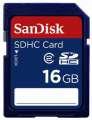 Paměťová karta SanDisk, typ SDHC - 16 GB