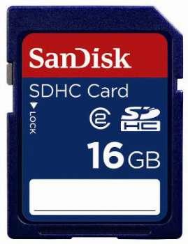 Paměťová karta typ SDHC SanDisk - 16 GB