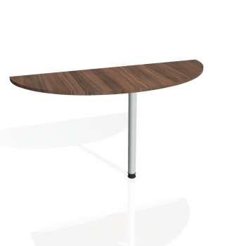 Přídavný stůl Hobis GATE GP 160, ořech/kov