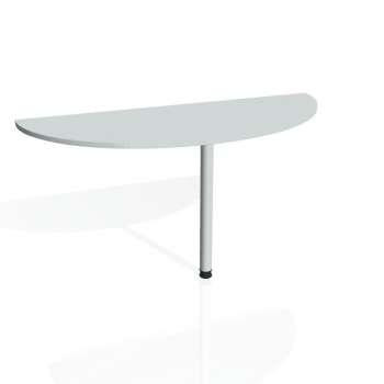 Přídavný stůl Hobis GATE GP 160, šedá/kov
