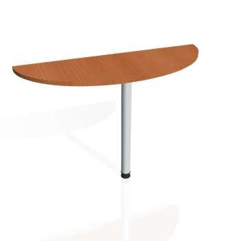 Přídavný stůl Hobis GATE GP 120, třešeň/kov