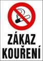 Zákazová tabulka Zákaz kouření! - plastová