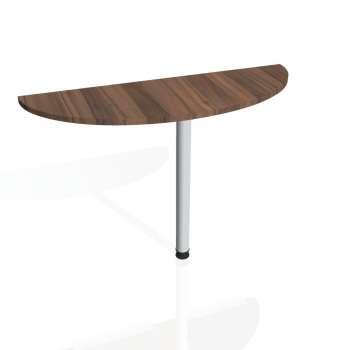 Přídavný stůl Hobis GATE GP 120, ořech/kov