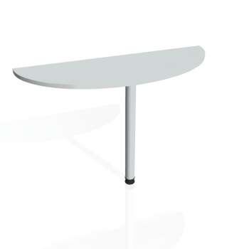 Přídavný stůl Hobis GATE GP 120, šedá/kov