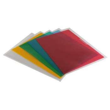 """Obaly na doklady """"L"""" Niceday - A4, 90 mikronů, krupičkové, barevné, 100 ks"""