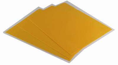 """Obaly na doklady """"L"""" Office Depot - A4, 120 mikronů, krupičkové, žluté, 25 ks"""