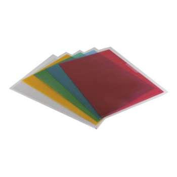 """Obaly na doklady """"L"""" Office Depot - A4, 120 mikronů, krupičkové, mix barev, 25 ks"""