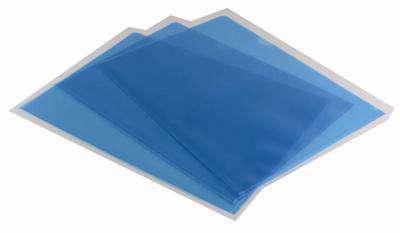 """Obaly na doklady """"L"""" Office Depot - A4, 120 mikronů, krupičkové, modré, 100 ks"""