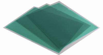 """Obaly na doklady """"L"""" Office Depot - A4, 120 mikronů, krupičkové, zelená, 100 ks"""