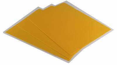 """Obaly na doklady """"L"""" Office Depot - A4, 120 mikronů, krupičkové, žluté, 100 ks"""