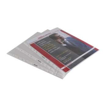 """Závěsné """"U"""" obaly Niceday - A4 rozšířené, 55 mikronů, krupičkové, čiré, 50 ks"""