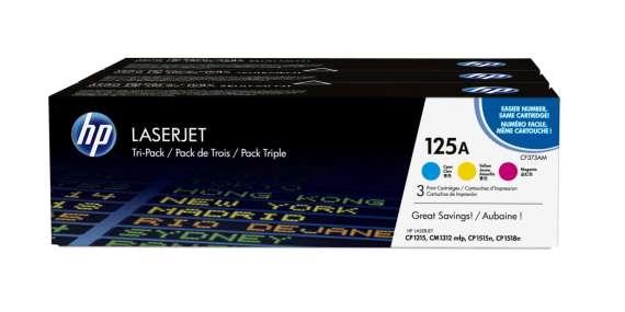 Toner HP CF373AM,  CMY - trojbalení