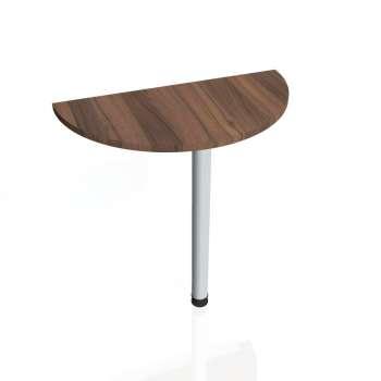 Přídavný stůl Hobis GATE GP 80, ořech/kov