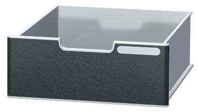 Zásuvky modulodoc jumbo, černý panel