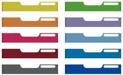 Panely přední barevné pro zásuvky Modulodoc standard