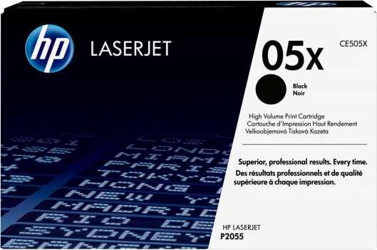 Toner HP CE505X/05X - černá
