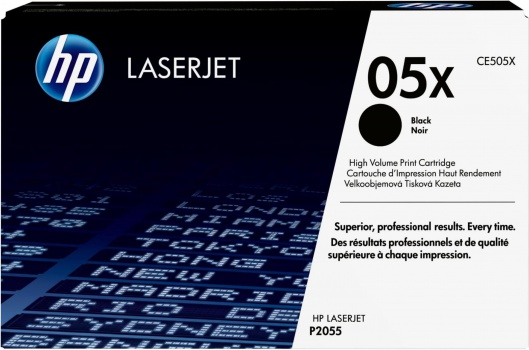 Toner HP CE505X/05X - černý