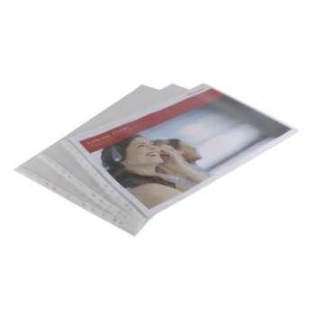 """Prospektové """"U"""" obaly Office Depot - A3 na šířku, 110 mikronů, krupičkové, čiré, 10 ks"""