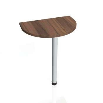 Přídavný stůl Hobis GATE GP 60, ořech/kov