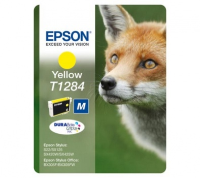 Cartridge Epson T1284 - žlutá