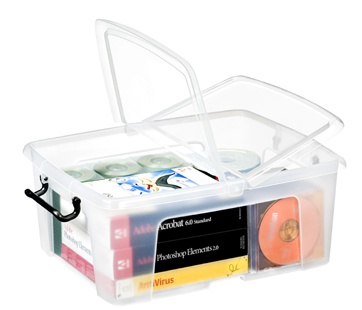Plastový box  Strata, 24 litrů