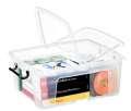 Plastový box  Strata - transparentní, 24 l