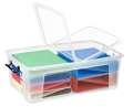 Plastový box  Strata - transparentní, 50 l