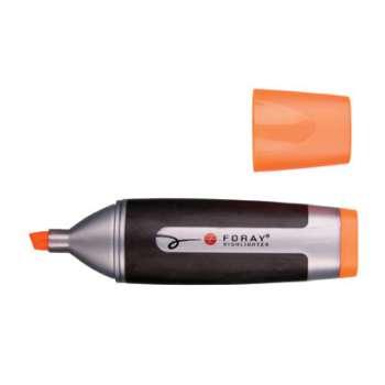 Zvýrazňovač Foray plochý ,oranžový