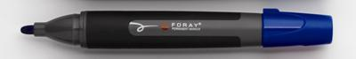 Popisovač permanentní Foray - modrá, 3 mm