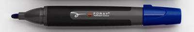 Popisovač permanentní Foray - modrý, 3 mm