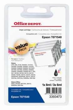 Cartridge Office Depot Epson T071540 - černá/tříbarevná