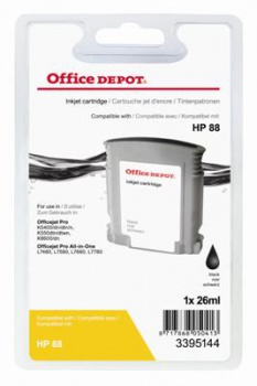 Cartridge Office Depot HP C9385A/88 - černá