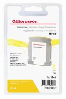 Cartridge Office Depot HP C9388A/ 88 - žlutá