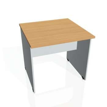 Jednací stůl Hobis GATE GJ 800, buk/šedá
