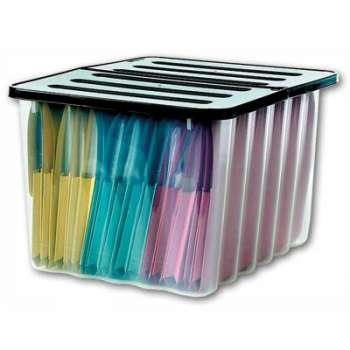 Úložný box Niceday - plastový, 28 l