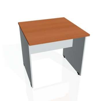 Jednací stůl Hobis GATE GJ 800, třešeň/šedá