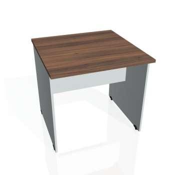 Jednací stůl Hobis GATE GJ 800, ořech/šedá